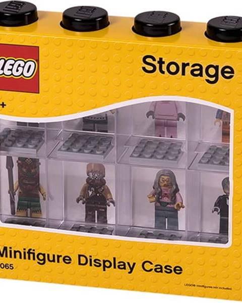 LEGO Černobílá sběratelská skříňka na 8 minifigurek LEGO®
