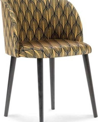Jídelní židle se sametovým potahem Windsor & Co Sofas Aurora