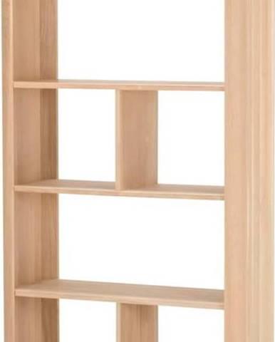 Knihovna z dubového dřeva Gazzda Ena, 90x35x200cm
