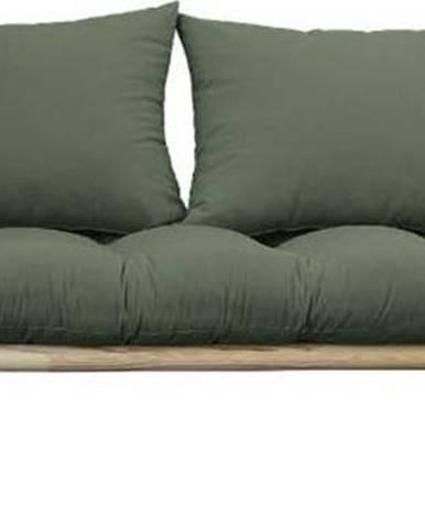 Pohovka Karup Design Pace Natural Clear/Olive Green