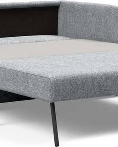Šedá rozkládací pohovka Innovation Olan Twist Granite