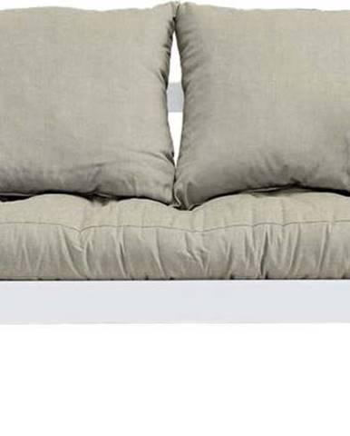 Variabilní pohovka Karup Design Beat White/Linen Beige