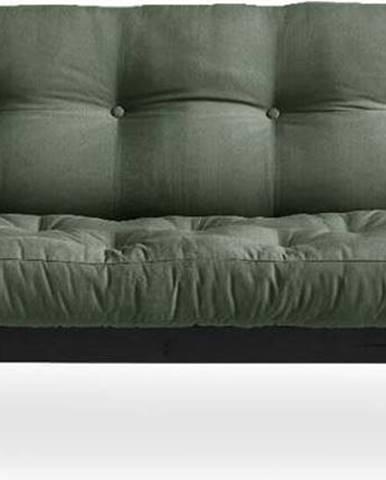 Variabilní pohovka Karup Design Poetry Black/Olive Green