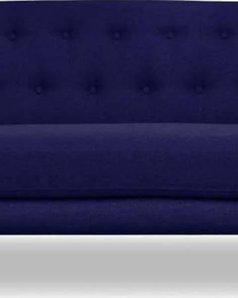 Cosmopolitan design Tmavě modrá pohovka Cosmopolitan design London, 162 cm