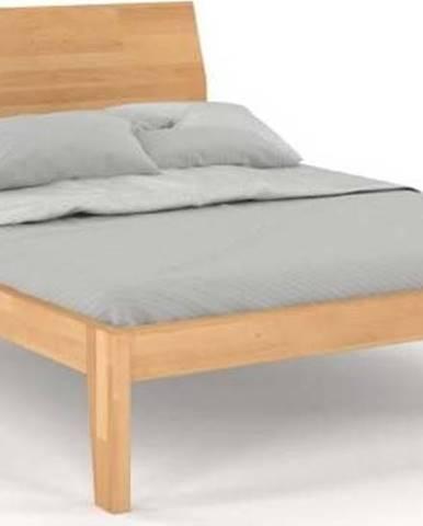 Dvoulůžková postel z masivního bukového dřeva SKANDICA Agava, 160 x 200 cm