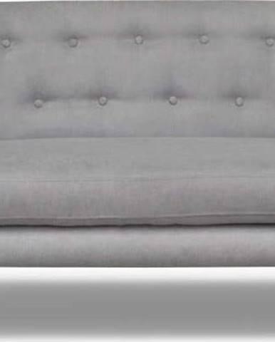 Světle šedá pohovka Cosmopolitan design London, 162 cm