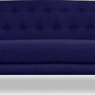 Tmavě modrá pohovka Cosmopolitan design London, 162 cm