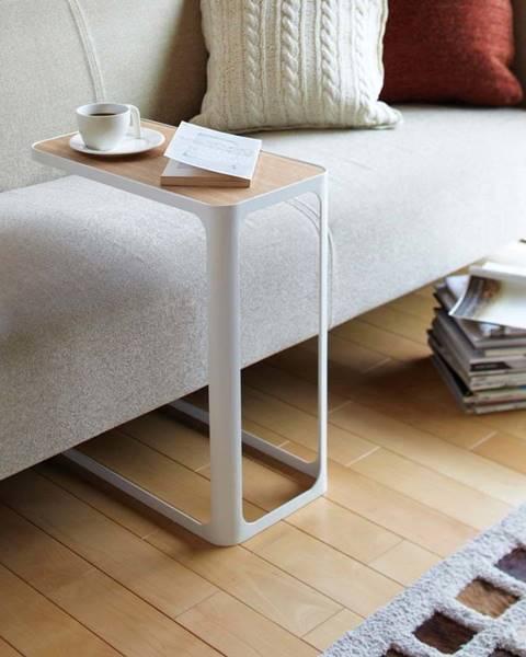 YAMAZAKI Bílý stolek YAMAZAKI Frame