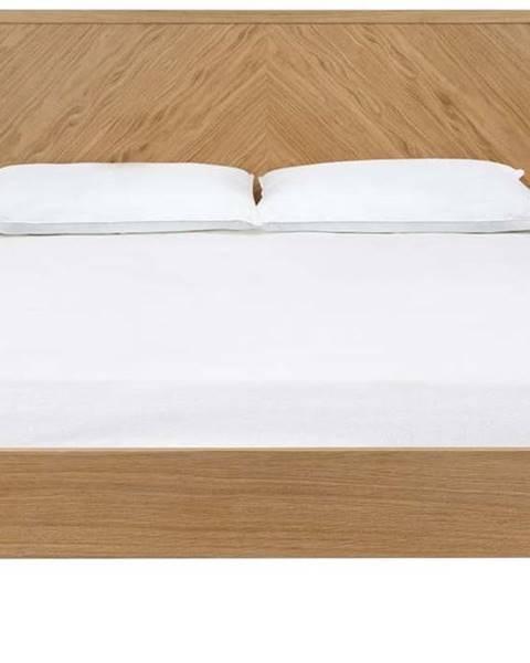 Woodman Dvoulůžková postel Woodman Farsta Angle, 140 x 200 cm