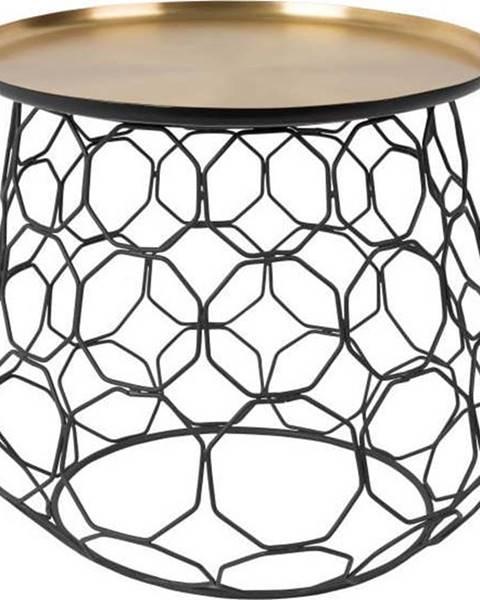 Dutchbone Kovový odkládací stolek Dutchbone Moulin, ⌀ 54 cm