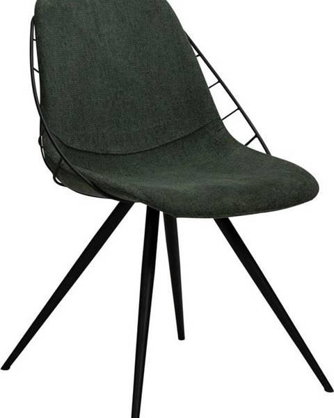 DAN-FORM Denmark Zelená jídelní židle DAN-FORM Denmark Sway