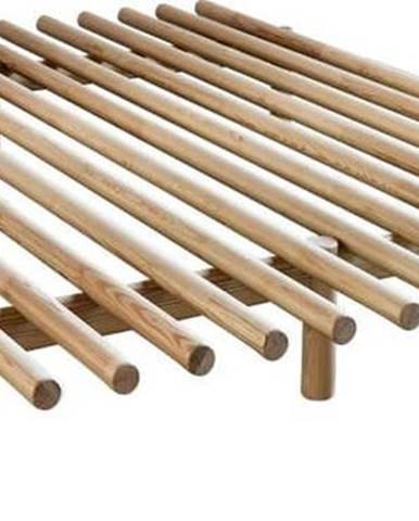 Rám postele z borovicového dřeva Karup Design Pace Natural,140x 200 cm