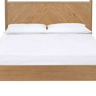 Dvoulůžková postel Woodman Farsta Angle, 140 x 200 cm