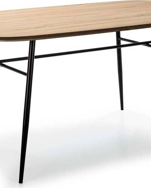 Marckeric Jídelní stůl s deskou v dekoru dubového dřeva Marckeric Mirta