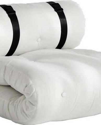Bílé rozkládací křesílko vhodné do exteriéru Karup Design Design OUT™ Buckle Up White