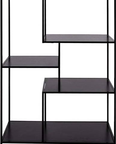 Černá knihovna House Nordic Vita Shelf, 80 x 120 cm