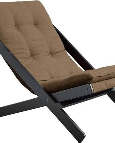 Skládací křeslo Karup Design Boogie Black/Mocca