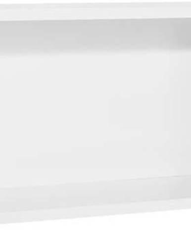Bílo-šedá nástěnná police Vox Concept