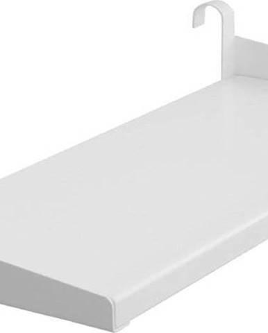 Bílá závěsná polička k dětské posteli Flexa Classic