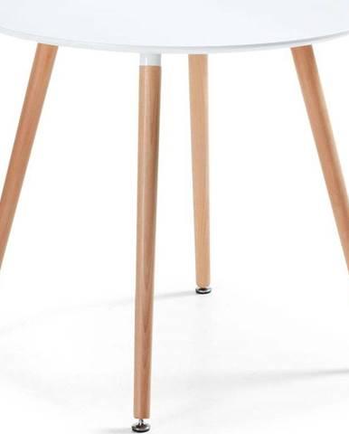 Jídelní stůl z bukového dřeva La Forma Daw, ⌀ 100cm