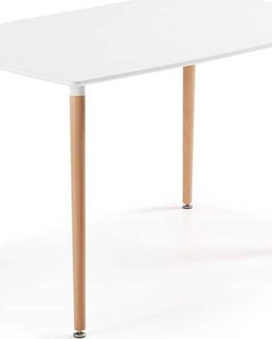 Jídelní stůl z bukového dřeva La Forma Daw, 140 x 80 cm