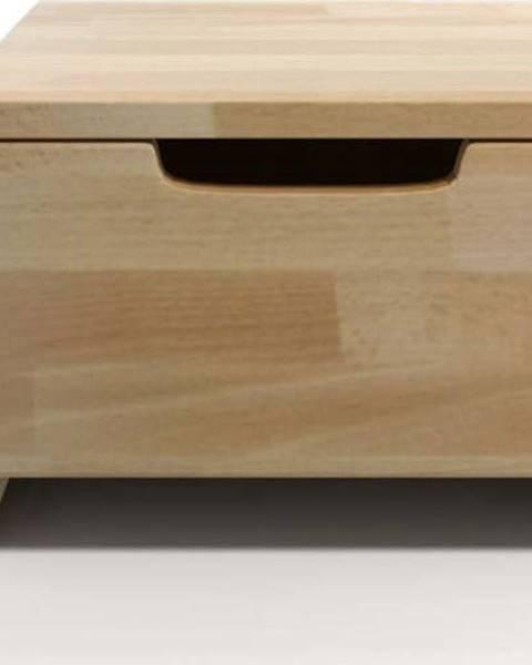 SKANDICA Noční stolek z bukového dřeva se zásuvkou SKANDICA Spectrum