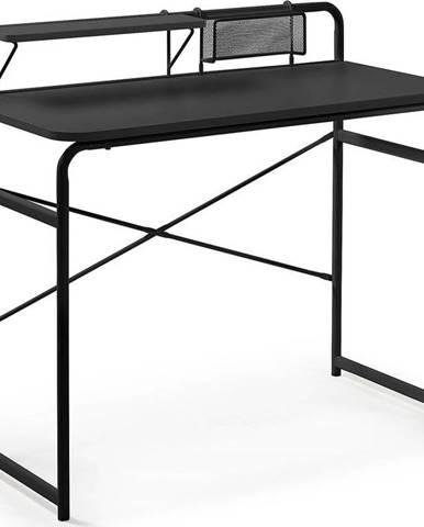 Černý psací stůl La Forma Foreman