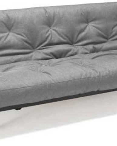 Světle šedá rozkládací pohovka Innovation Fraction Elegant Flashtex Light Grey, 97x200cm