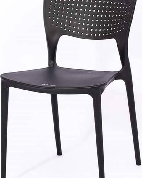 Le Bonom Černá zahradní židle Le Bonom Wendy