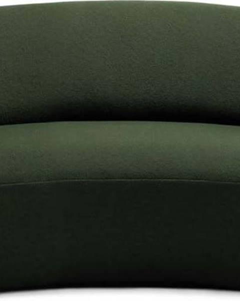 Emko Zelená vlněná pohovka EMKO Naïve, 162 cm