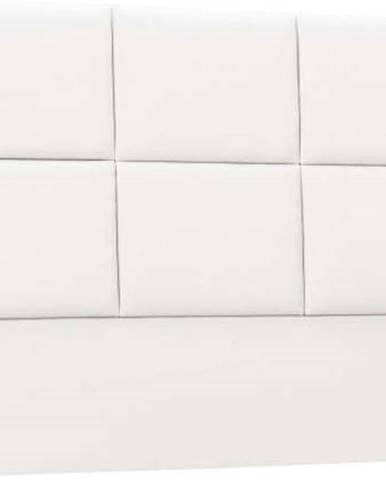 Bílé čalouněné čelo postele THE CLASSIC LIVING Aude, 160x120cm
