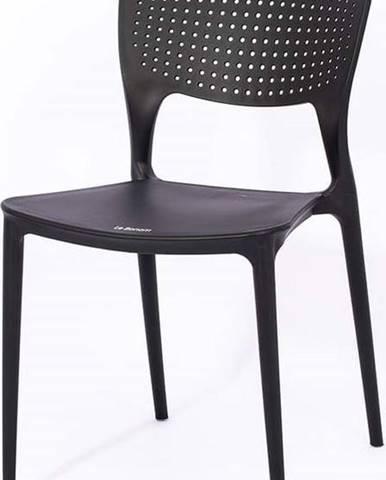Černá zahradní židle Le Bonom Wendy