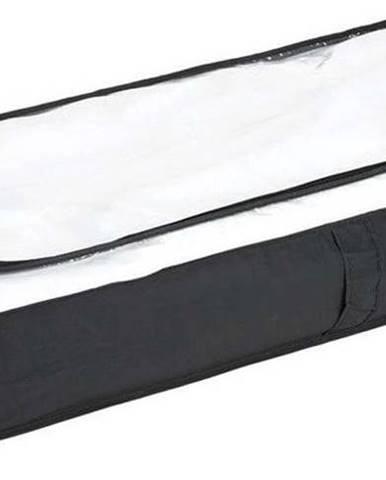 Černý úložný box pod postel Wenko, 105x45cm