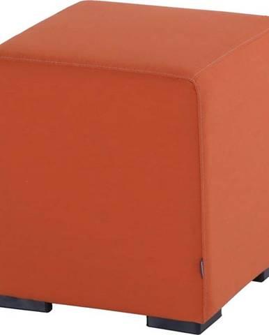 Oranžový zahradní puf Hartman Alex