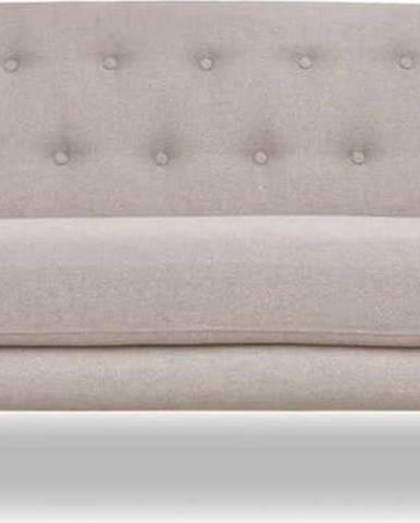 Šedobéžová pohovka Cosmopolitan design London, 192 cm