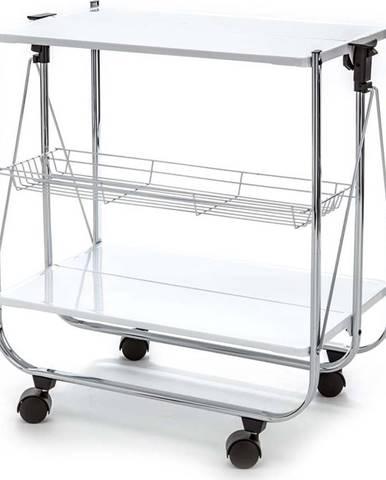 Skládací kovový servírovací stolek Tomasucci Kit