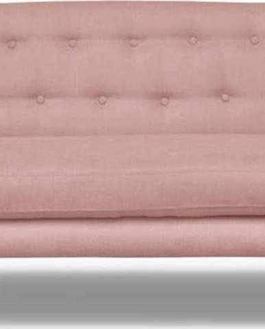 Světle růžová pohovka Cosmopolitan design London, 192 cm