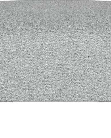 Světle šedý puf Ghado Shel