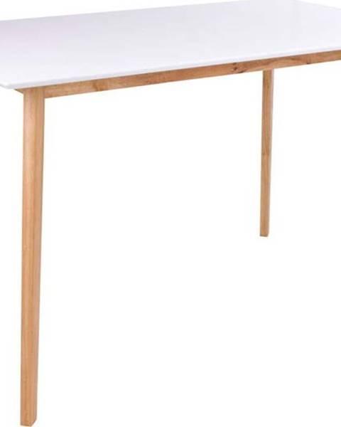 loomi.design Jídelní stůl s bílou deskou loomi.design Vojens, 120 x 70 cm