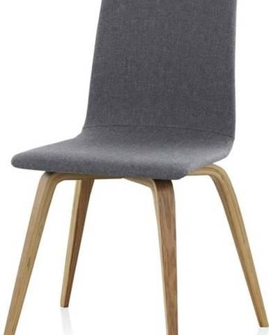 Dřevěná polstrovaná jídelní židle Geese