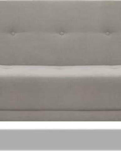 Hnědo béžová rozkládací pohovka Cosmopolitan Design Bristol, 212 cm