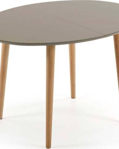 Rozkládací jídelní stůl z bukového dřeva La Forma Oakland, 120 x 90 cm