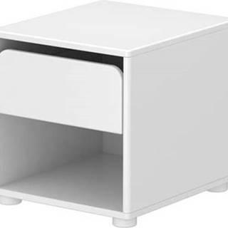 Bílý dětský noční stolek Flexa Cabby