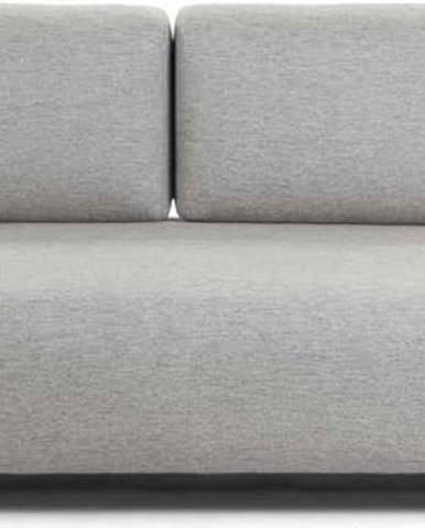 Béžovo-šedá pohovka s odkládacím prostorem La Forma Compo