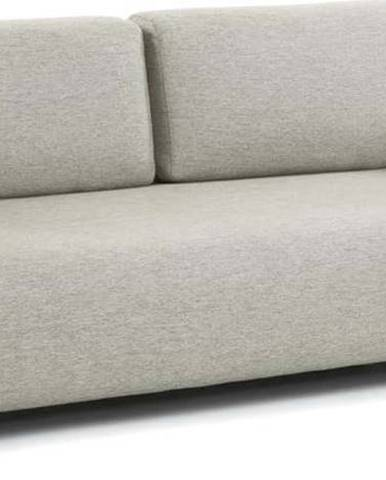 Béžovo-šedá pohovka s područkami La Forma Compo
