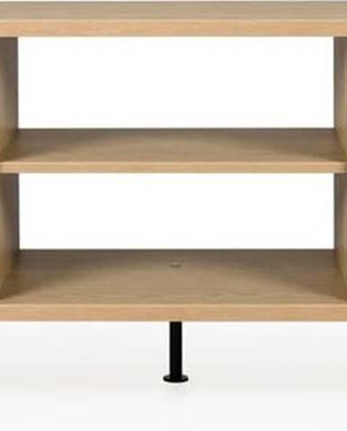 Černý TV stolek Tenzo Flow