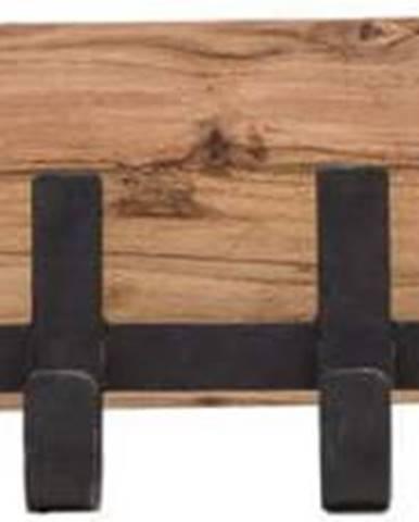 Nástěnný věšák z akáciového dřeva WOOX LIVING Finn