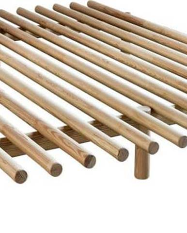 Rám postele z borovicového dřeva Karup Design Pace Natural,160 x 200 cm