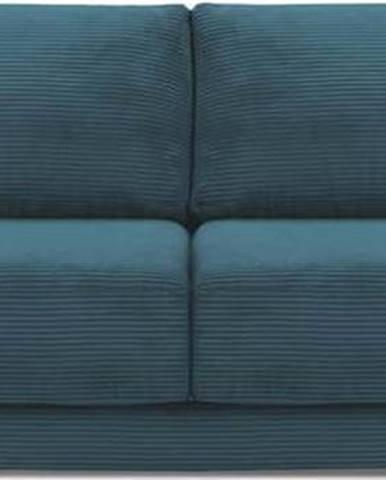 Tyrkysová manšestrová rozkládací pohovka Milo Casa Donatella