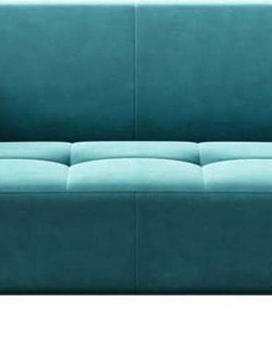 Tyrkysově modrá pohovka MESONICA Toro, 217 cm